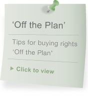 Buying 'Off the Plan'